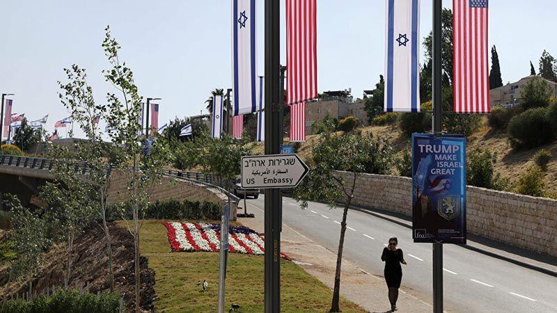 واشنطن تثبت موقع سفارتها في القدس المحتلة