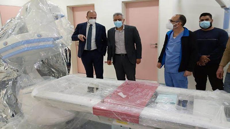 وزير الصحة يجول على مستشفيات الجنوب ويؤكد إطلاق حملة التلقيح الأحد المقبل