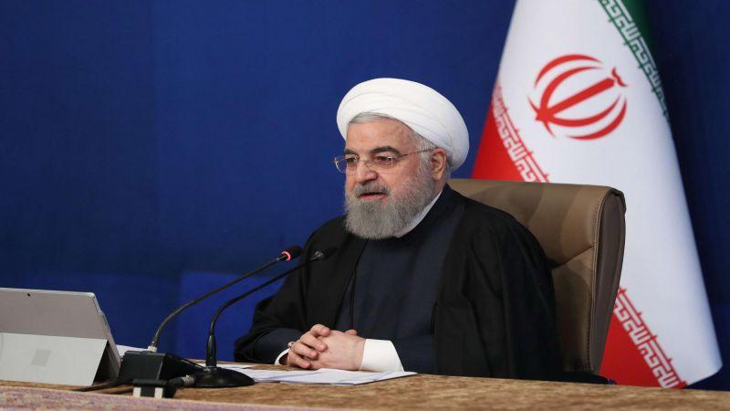 الرئيس روحاني: لم نرَ حسن النوايا من الادارة الأميركية الجديدة