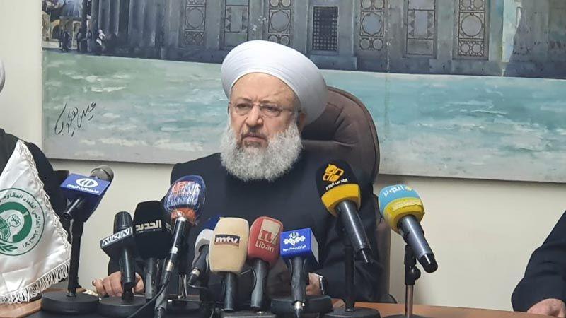 الشيخ حمود: العدو يسعى إلى تشويش المشهد في وجه المقاومة