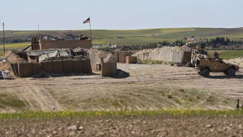 الإحتلال الأمريكي يخلي بالكامل موقع تمركزه في صوامع تل علو في ريف الحسكة