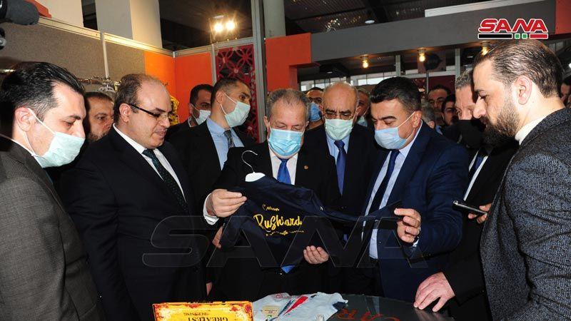سوريا: افتتاح معرض تخصصي للألبسة والنسيج بمشاركة أكثر من 360 شركة