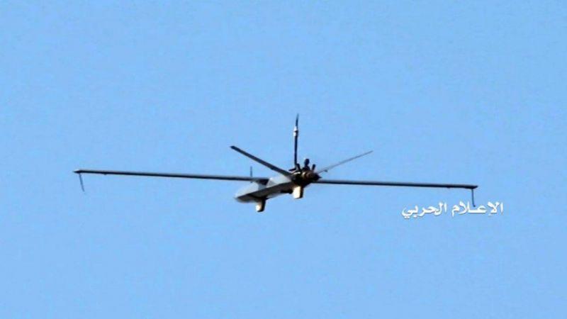 عملية هجومية يمنية بطائرة صمّاد3 على هدف عسكري هام في مطار أبها الدولي