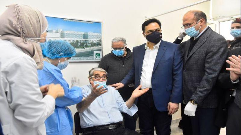 لبنان يطلق الحملة الوطنية للتلقيح ضد فيروس كورونا
