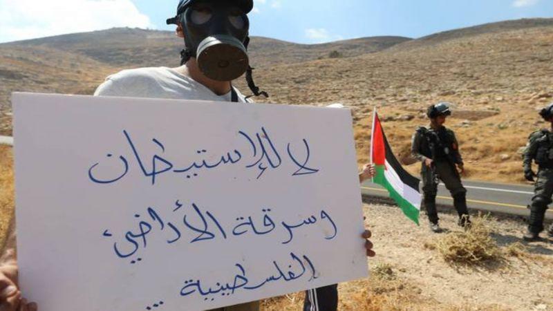 قرار استعماري توسعي للاحتلال لسرقة المزيد من الأراضي الفلسطينية