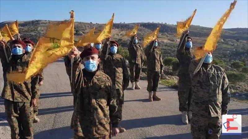 حزب الله يحي ذكرى الشهداء القادة في بلدة سحمر