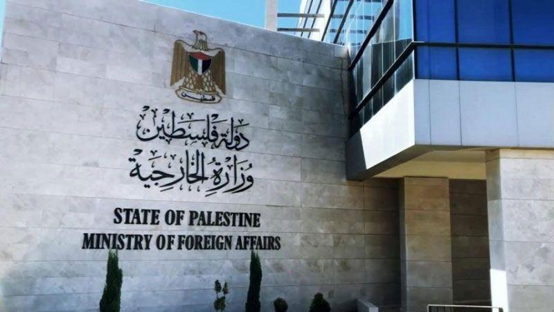 الخارجية الفلسطينية: لعدم التغافل عن جرائم الاحتلال