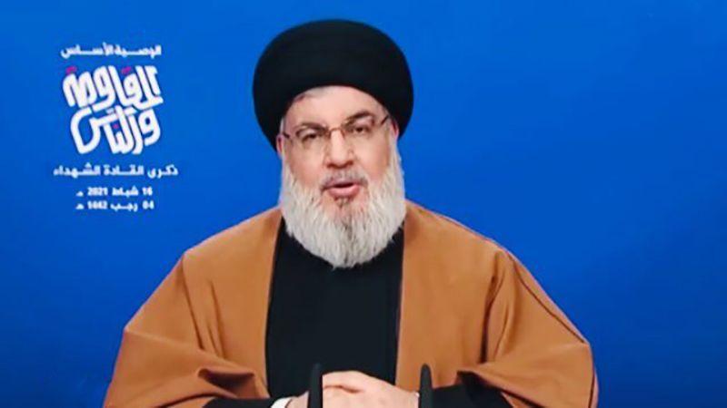 كلمة الأمين العام لحزب الله السيد حسن نصرالله في الذكرى السنوية للقادة الشهداء