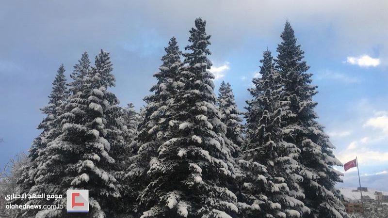 """""""جويس"""" باقية حتى السبت المقبل والثلوج تقطع الطرقات في البقاعين الغربي والأوسط"""