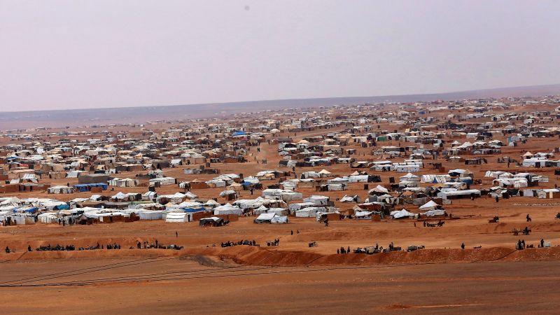 وضع اللاجئين في مخيم الركبان يتدهور وواشنطن تعرقل الحل