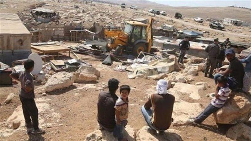 الأمم المتحدة تطالب العدو بوقف عمليات الهدم في غور الأردن