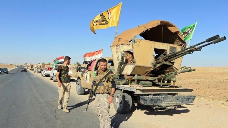"""العراق .. الحشد الشعبي يواصل تقدمه في عملية """"ثأر الشهداء"""""""