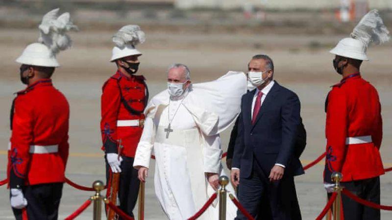البابا من بغداد: على المجتمع الدولي أن يعزز السلام في العراق