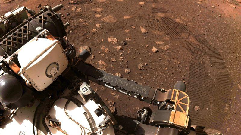 """مركبة """"برسفيرانس"""" تتجول على المريخ للمرة الأولى"""