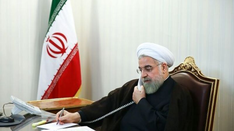 روحاني للكاظمي: الولايات المتحدة تلعب دورًا تخريبيًا في العراق والمنطقة