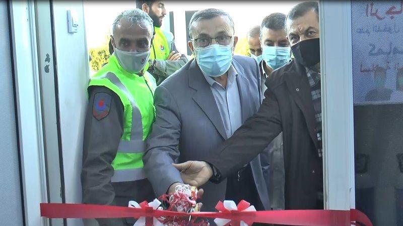 إفتتاح مركز لمواجهة فيروس كورونا في بلدة معروب