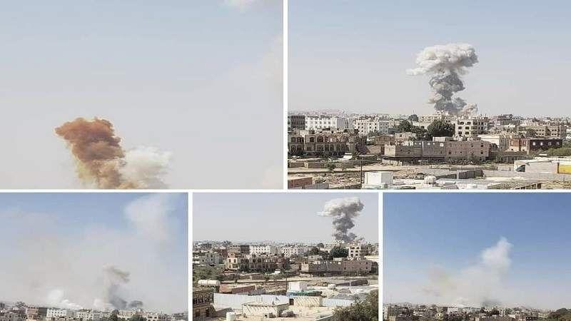 تحالف العدوان يصعّد في صنعاء والمناطق .. والقوات اليمنية ترد بعمليات في عمق السعودية