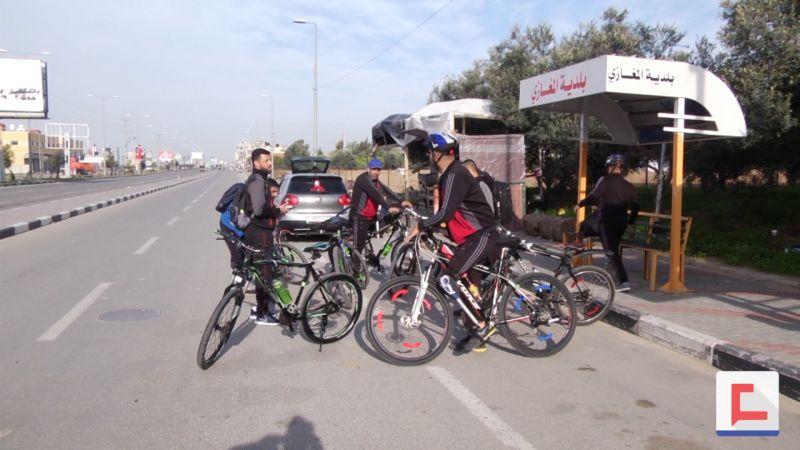 أول فريق للدراجات الهوائية من مبتوري الأطراف في غزة