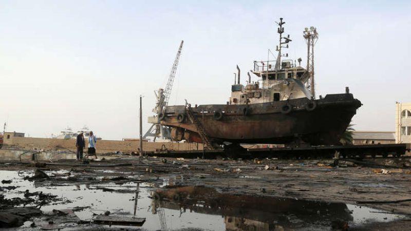 قرصنة العدوان للسفن اليمنية تجبرها على أن تعود أدراجها
