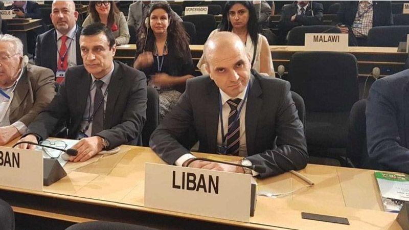 مندوب لبنان في الأمم المتحدة: نرفض ونستنكر اي افتراء وتدخّل إسرائيلي سافر