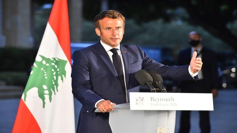 ماكرون: من الضروري تغيير المقاربة إزاء لبنان