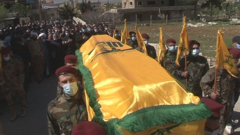 حزب الله وأهالي الخضر يشيعون فقيد الجهاد والمقاومة المرحوم لافي عودة