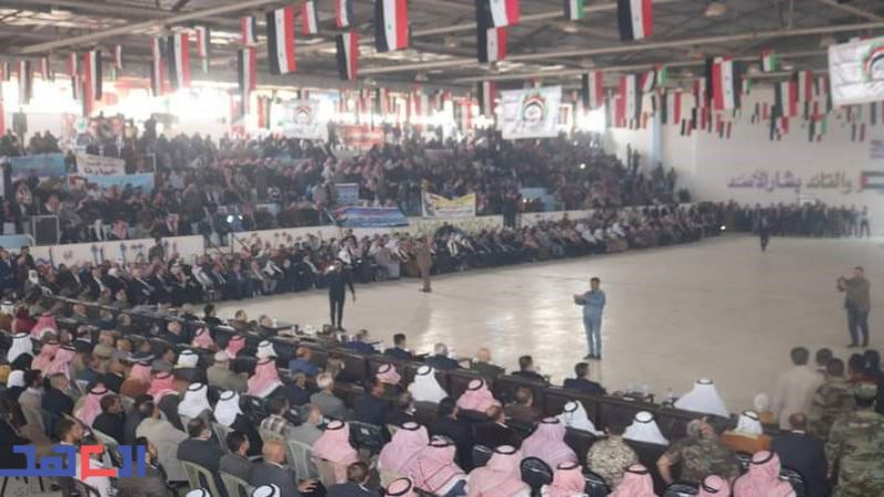 """القبائل والعشائر العربية في دير الزور لـ""""العهد"""": الأسد خيارنا"""