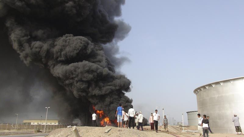 بعد 6 سنوات من العدوان.. خسائر القطاع النفطي اليمني تتجاوز 45 مليار دولار
