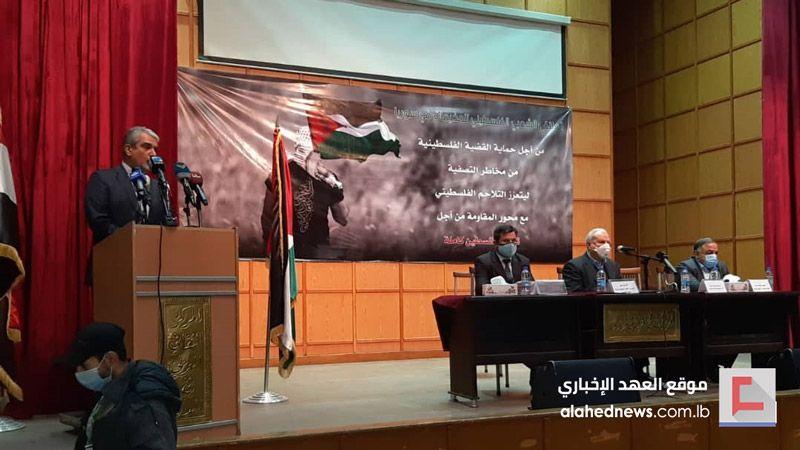 الملتقى الشعبي الفلسطيني يعقد اجتماعاته في دمشق: متمسكون بانتمائنا إلى محور المقاومة