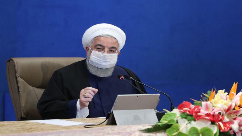 روحاني: الشعب الإيراني صاحب القرار