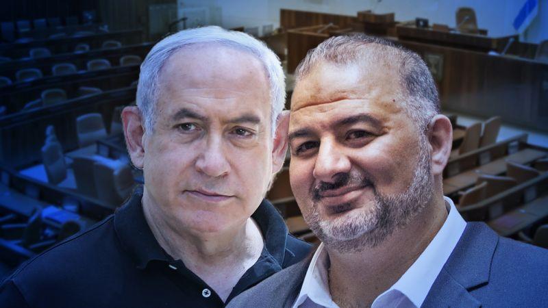 عيْن نتنياهو على قائمة منصور عباس والمنشقّين