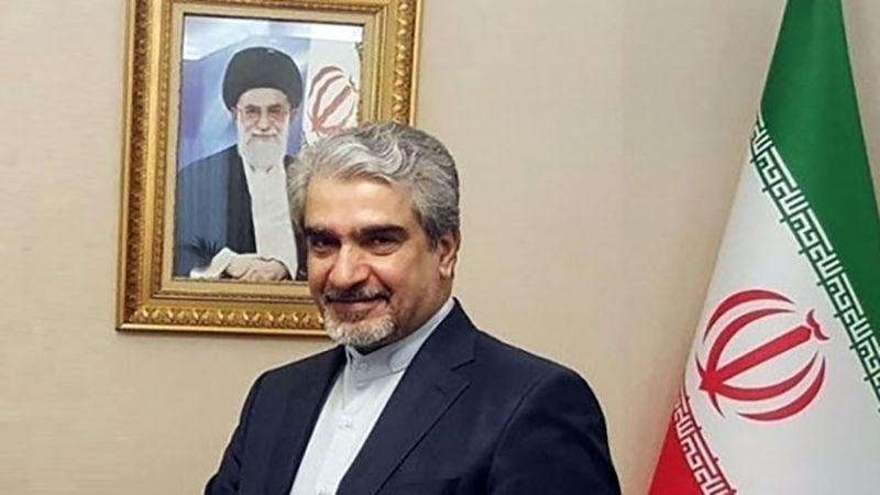 """السفير الإيراني في دمشق لـ""""العهد"""": فلسطين قضيتنا جميعًا"""
