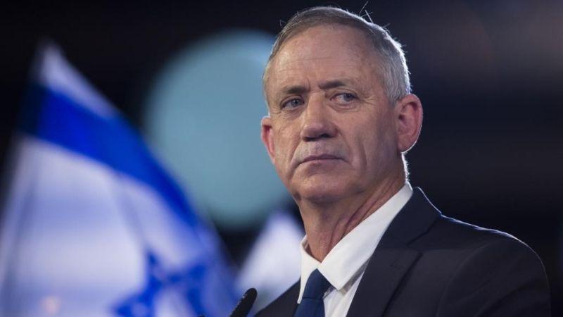 """غانتس: نتنياهو يقود """"إسرائيل"""" الى الحرب"""