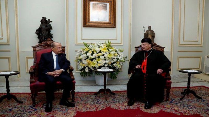 رئيس الجمهورية من بكركي: نتمنى الخروج من النفق الأسود