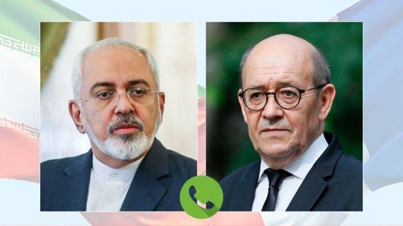 اجتماع اللجنة المشتركة للاتفاق النووي محور المباحثات الهاتفية بين لودريان وظريف