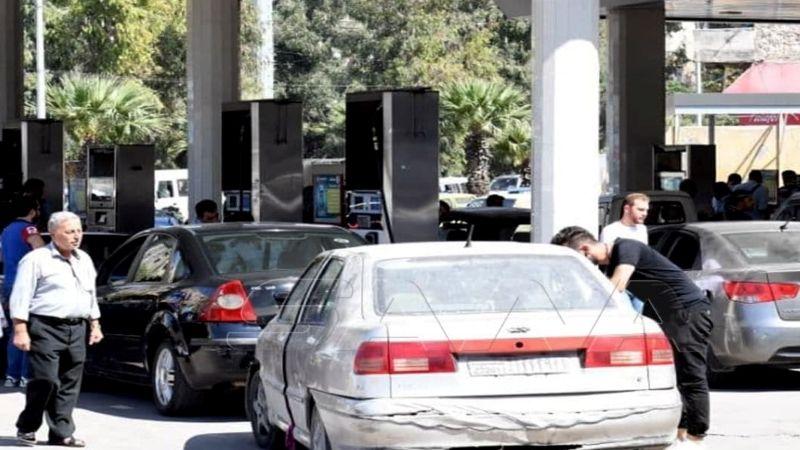 سوريا تطبِّق الآلية الجديدة لتوزيع البنزين بنظام الرسائل النصية