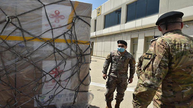 وصول كمية من لقاح سينوفارم هبة من الصين إلى لبنان