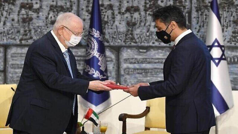 سفير الإمارات لدى كيان العدو يصل إلى تلّ أبيب