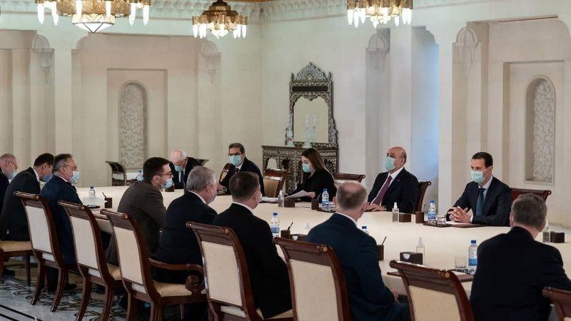 الأسد التقى مبعوث بوتين .. تأكيد على تكثيف العمل الثنائي لتخفيف آثار العقوبات الجائرة على سوريا