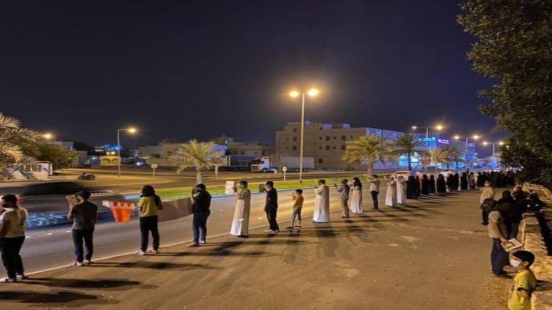 """11 يومًا والبحرينيون يواصلون رفع صوتهم: """"كورونا"""" يهدّد معتقلينا"""