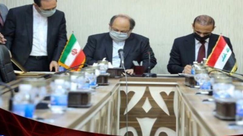 وزيرا العمل الإيراني والعراقي يوقعان وثيقة عمل مشتركة