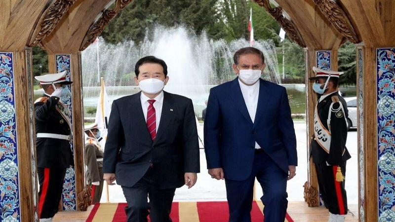 رئيس وزراء كوريا الجنوبية في إيران: لإتخاذ خطوات أساسية للتعويض عن الماضي