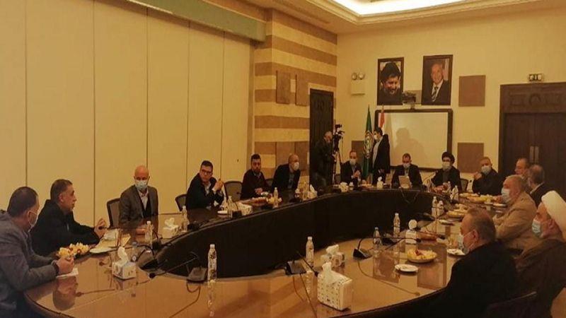 اجتماع تنسيقي بين حزب الله وحركة أمل عرض ملف تشكيل الحكومة