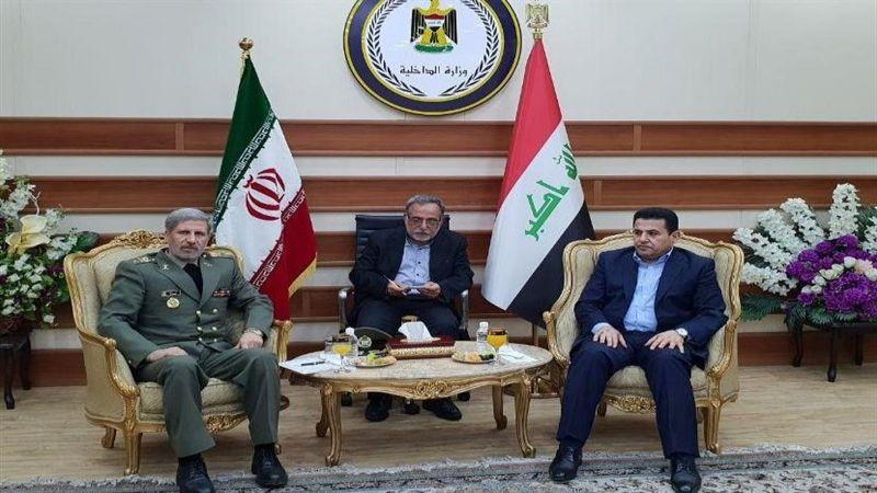 وزير الدفاع الإيراني: انسحاب القوات الأمريكية من العراق يساعد على إستقرار المنطقة