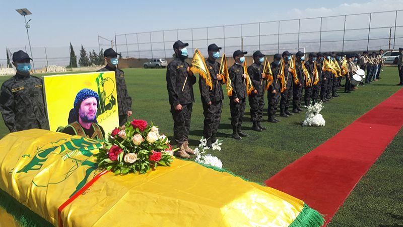 حزب الله يشيّع الفقيد المجاهد ميلاد قانصوه الى مثواه الأخير في الهرمل
