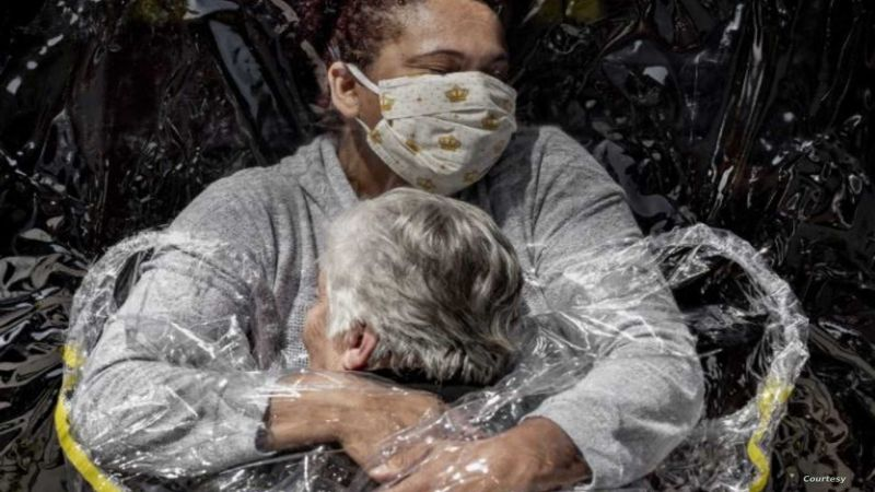 """صورة من واقع """"كورونا"""" تفوز بجائزة عالمية"""