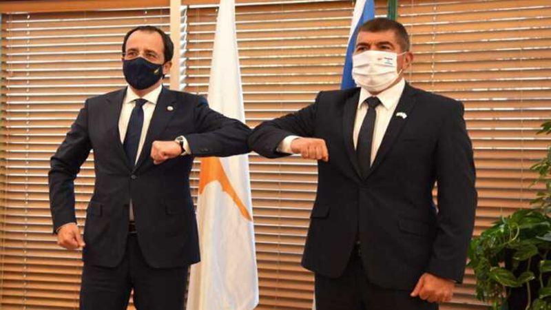 اجتماع رباعي في قبرص الجمعة بين وزراء خارجية العدو والإمارات واليونان وقبرص