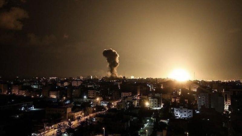 الاحتلال يقصف مواقع وأراضيَ زراعيةفي غزة