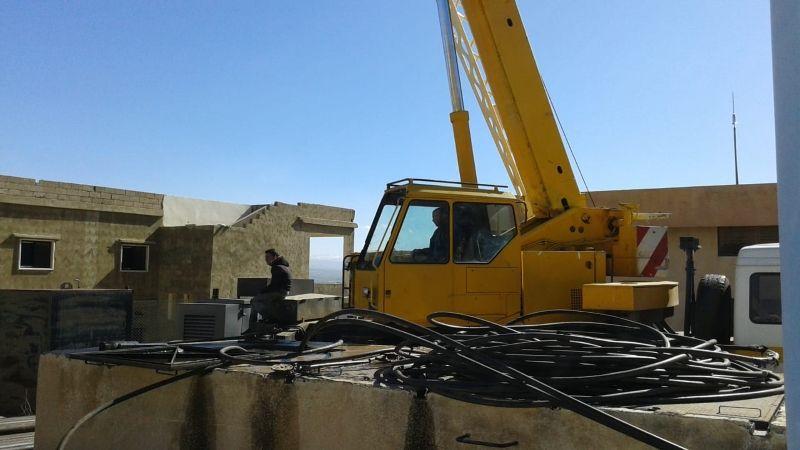 حزب الله مع الناس .. تأمين مضخة لبئر مياه بلدة نبحا في البقاع الشمالي