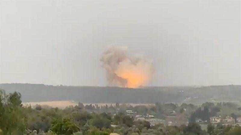 """انفجار ضخم في مصنع """"تومر"""" الأمني الاسرائيلي"""